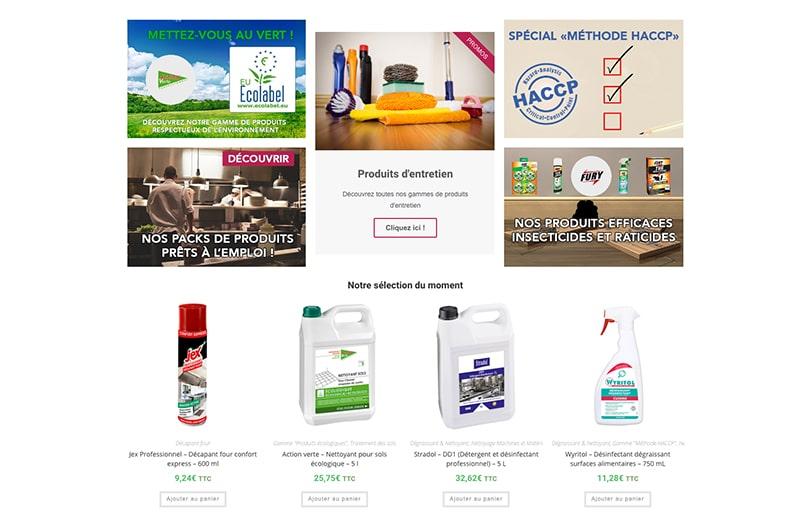 Lancement de la boutique en ligne