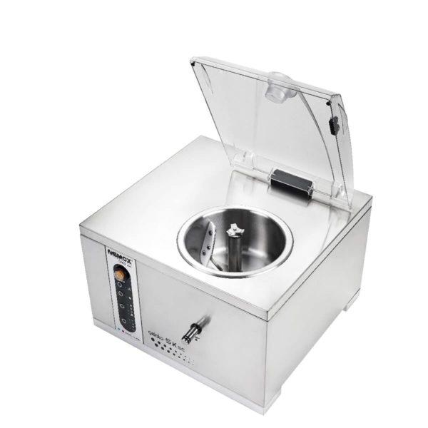 turbine à glace sur table professionnelle avec 4 programmes automatiques - Nemox 5K SC