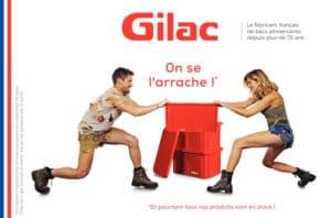 Hubert Cloix revendeur des produits Gilac