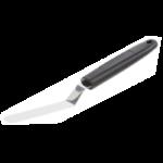 Petite spatule coudee inox 90