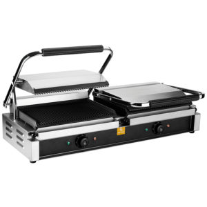 GRILL PANINI DOUBLE 230 VOLTS