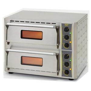 Four à pizza 2ET. 2X3KW/230V