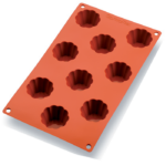 GASTROFLEX 9 BRIOCHETTES D52MM