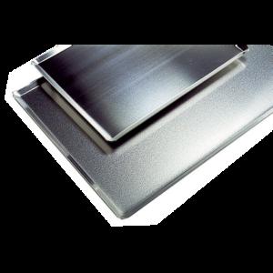Plaque aluminium 15/10 400X300
