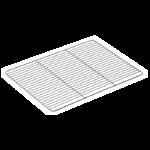 GRILLE INOX 400X300