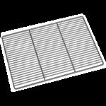 GRILLE INOX 600X400 RENFORCEE