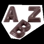 PLAQUE CHOCO ALPHABET