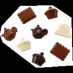 PLAQUE CHOCOLAT A L'HEURE DU T