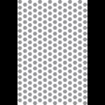 POCHOIR 60X40 PS HEXAGONES