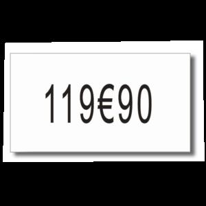 8 RLX 2500 ETIQUET. PR 140950