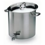 Marmite traiteur avec robinet S/C