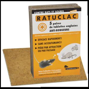 PAQUET DE 10 PIEGES RATUCLAC