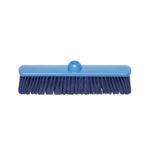 Balai Brosshygien fibre souple 38 cm – bleu
