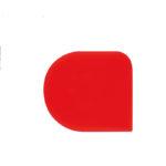 Corne demi-ronde – lot de 5 – rouge