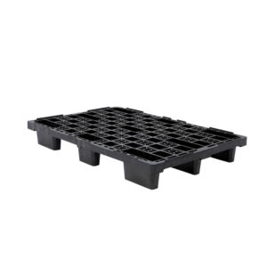 Palette légère emboîtable 800 x 1200 – noir