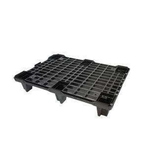 Palette légère emboîtable 600 x 800 – noir