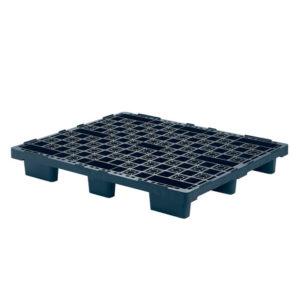 Palette légère emboîtable 1000 x 1200 – noir