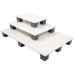 Palette 800 x 1200 agréée contact alimentaire – blanc