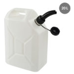 Jerrican 20 litres – blanc