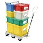 Bac HACCP 15 L rectangulaire + couvercle – couleur