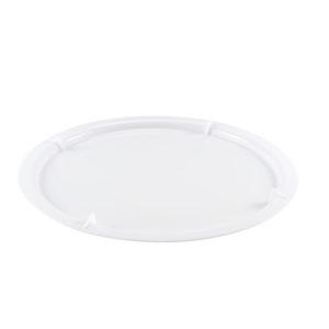Couvercle pour bac à diviseuse rond 19 L – blanc