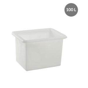 Bac grand volume 100 L – blanc