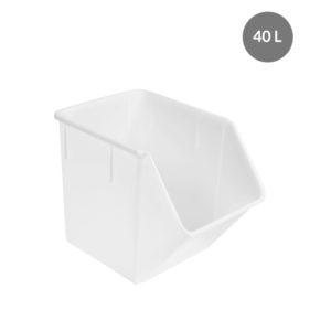 Bac à ingrédients 40 L – blanc