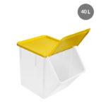 Couvercle pour bac à ingrédients 40 L – jaune