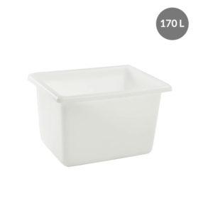 Bac grand volume 170 L – blanc