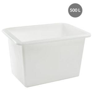 Bac grand volume 500 L – blanc