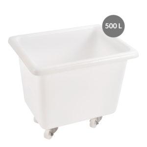 Bacs avec roues 100 à 500 litres