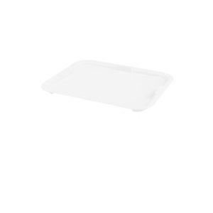 Couvercle bac à diviseuse rectangulaire 600 x 400 – 13 L – blanc