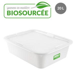 Bacs à diviseuse biosourcées