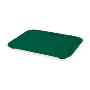 Couvercle pour bacs à diviseuse 10 L/20 L – vert