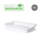 Bac à diviseuse biosourcé – blanc