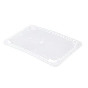 Couvercle pour bac plat 5 L – transparent