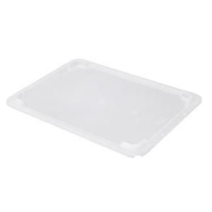 Couvercle pour bac plat 8 L – transparent