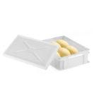 Demi bac à pâtons 400 x 300 x 100 mm 9 L – blanc