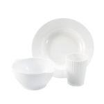 Assiettes – lot de 10 – blanc