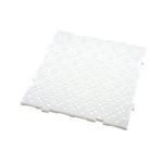 Caillebotis HACCP 50 x 50 cm, épaisseur 22 mm – blanc