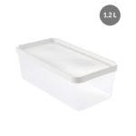 Boîte hermétique 1,2 L + couvercle – transparent
