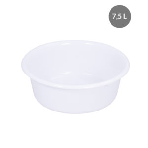 Cuvette ronde 7,5 L – blanc