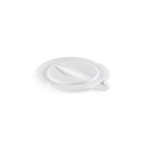 Couvercle pour seau rond avec bec verseur 12 L – blanc