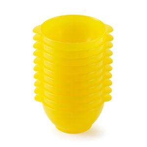 Bols à anses 50 cl – Lot de 10 – jaune
