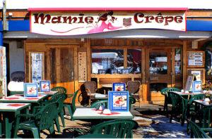 Mamie crêpe