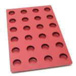 Moule cylindre – 24 alvéoles