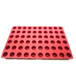 Moule cylindre – 60 alvéoles