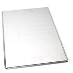 Plaque pâtissière aluminium pleine 45° – 400x600mm