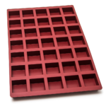 Moule cube – 35 alvéoles