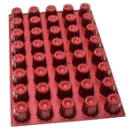 Moule à cannelés – 40 alvéoles
